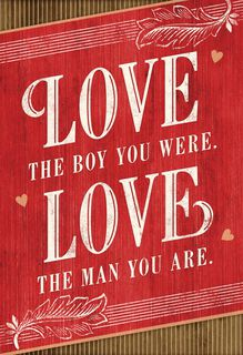 Love You Always Valentine's Day Card for Son,