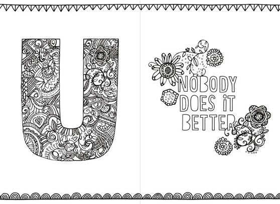 Be You Just Because Coloring Card - Greeting Cards - Hallmark