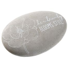 Her Beauty Blooms Still Garden Stone, , large