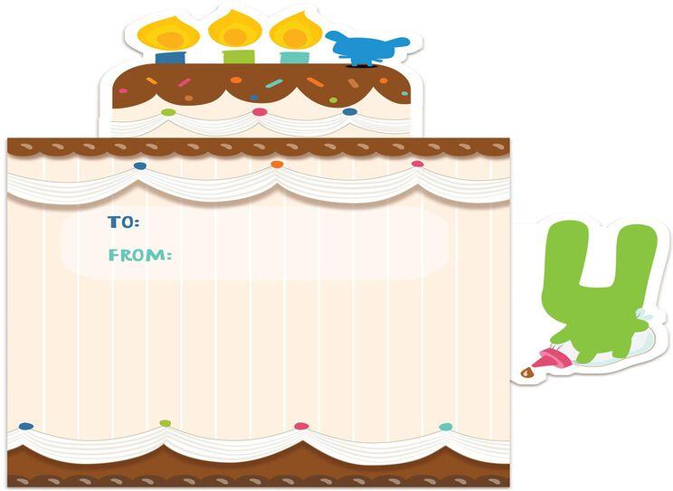Pop Up Birthday Cake Sound Card Greeting Cards Hallmark