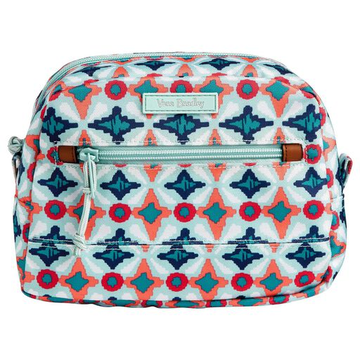 5d730753 Vera Bradley Iconic Medium Cosmetic Bag in Daisy Dot Paisley ...