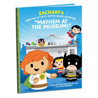 Great Big itty bittys® Justice League™ Adventure: Mayhem at the Museum Personalized Book,