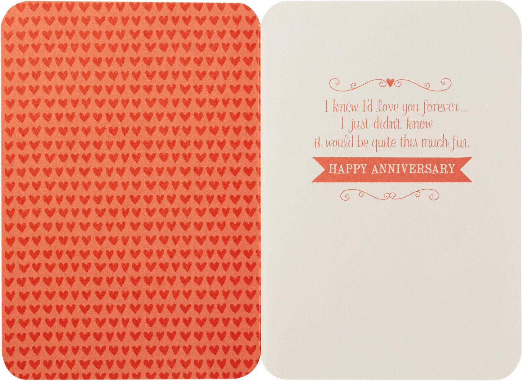 Hallmark Wedding Anniversary Gifts: Signature Collection Cards