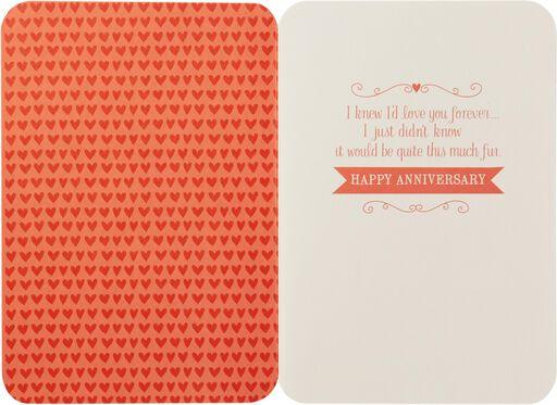 Loving You Is Fun Anniversary Card,