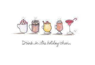 Holiday Cheer Christmas Card,