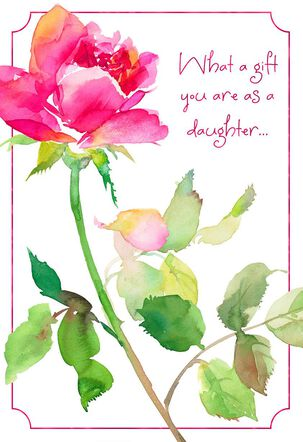 You're a Blessing of Love Birthday Card for Daughter