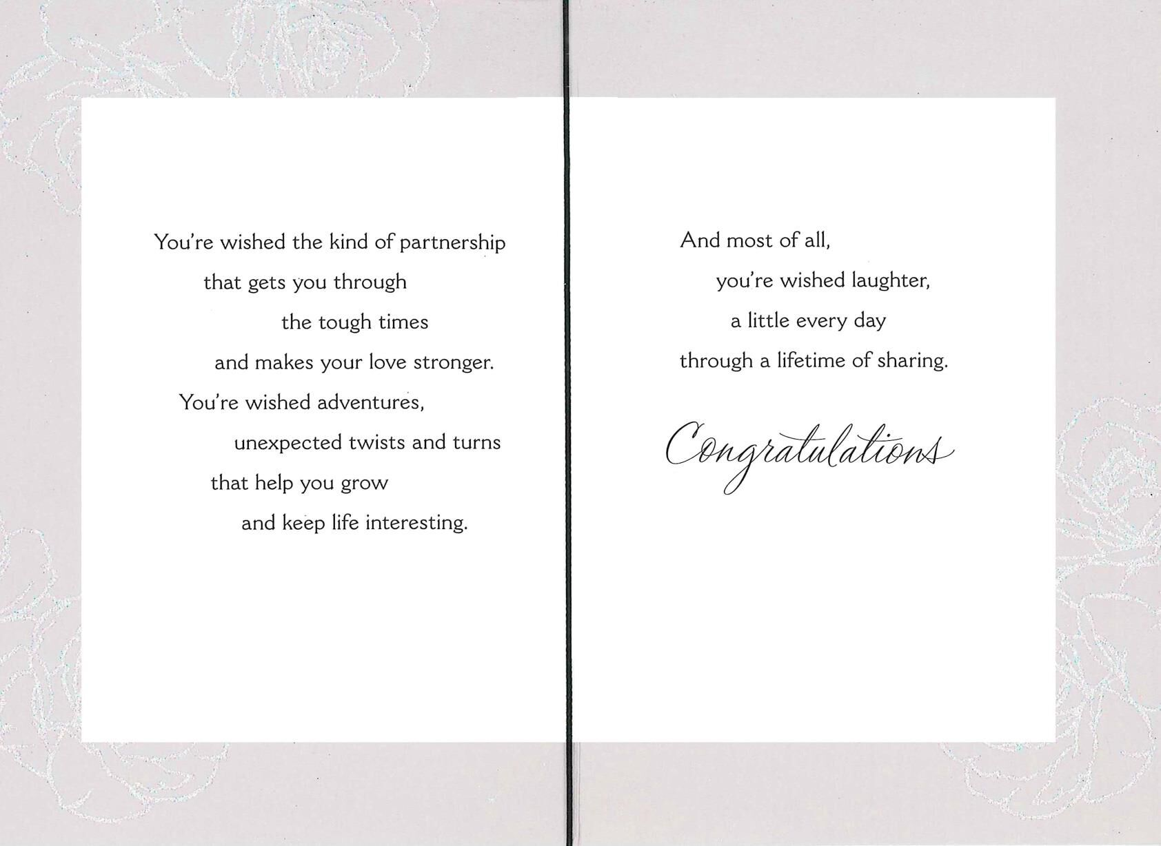 A Shower of Wishes Wedding Card Greeting Cards Hallmark