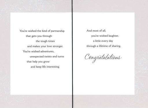 a shower of wishes wedding card