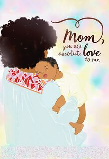 Mahogany african american cards gifts ornaments hallmark jill scott absolute love mothers day card m4hsunfo Images