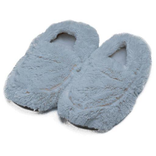 968c0183c6de Warmies Heatable Scented Gray Slippers