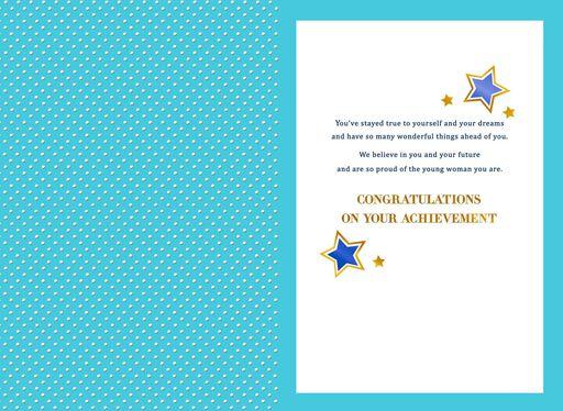Amazing Niece Graduation Greeting Card,