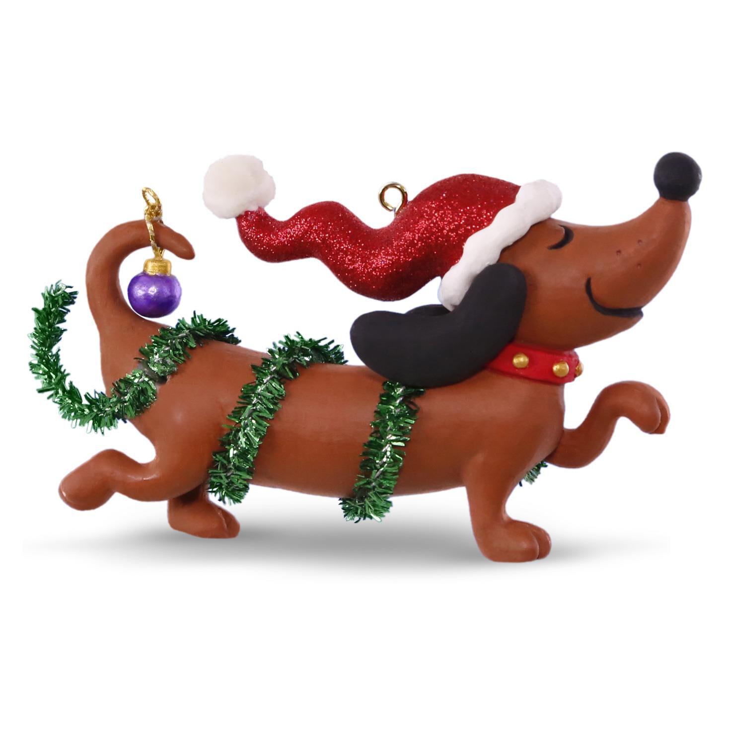 Party Dog Christmas Decoration