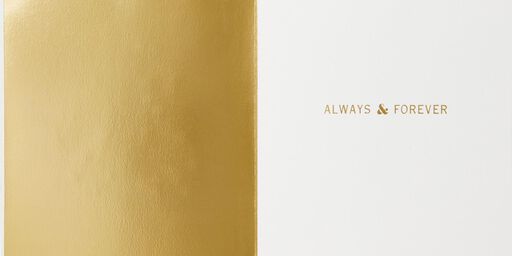 Always and Forever Anniversary Card,