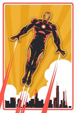 Iron Man Your Mission Birthday Card