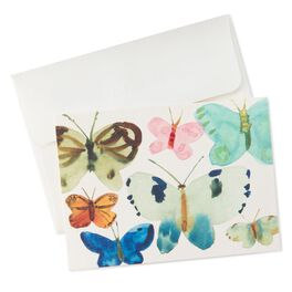 Butterfly Watercolor Notes, Pack of 10, , large