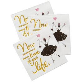 Time of Your Life Beverage Napkins, Pack of 20, , large