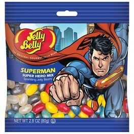 Jelly Belly® Superman™ Jelly Beans Gift Bag, 2.8 oz., , large