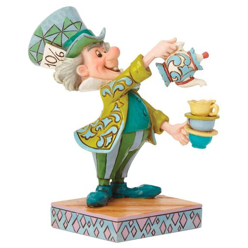 a7648266 Jim Shore Mad Hatter Personality Pose Figurine, 4.75