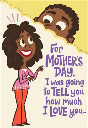 Hands-On Romantic Pop Up Mother's Day Card for Wife