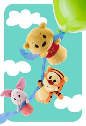 Pooh itty bittys® Greetings Just Because Card
