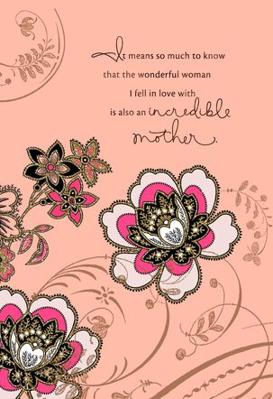 Wonderful Woman Mother's Day Card for Wife