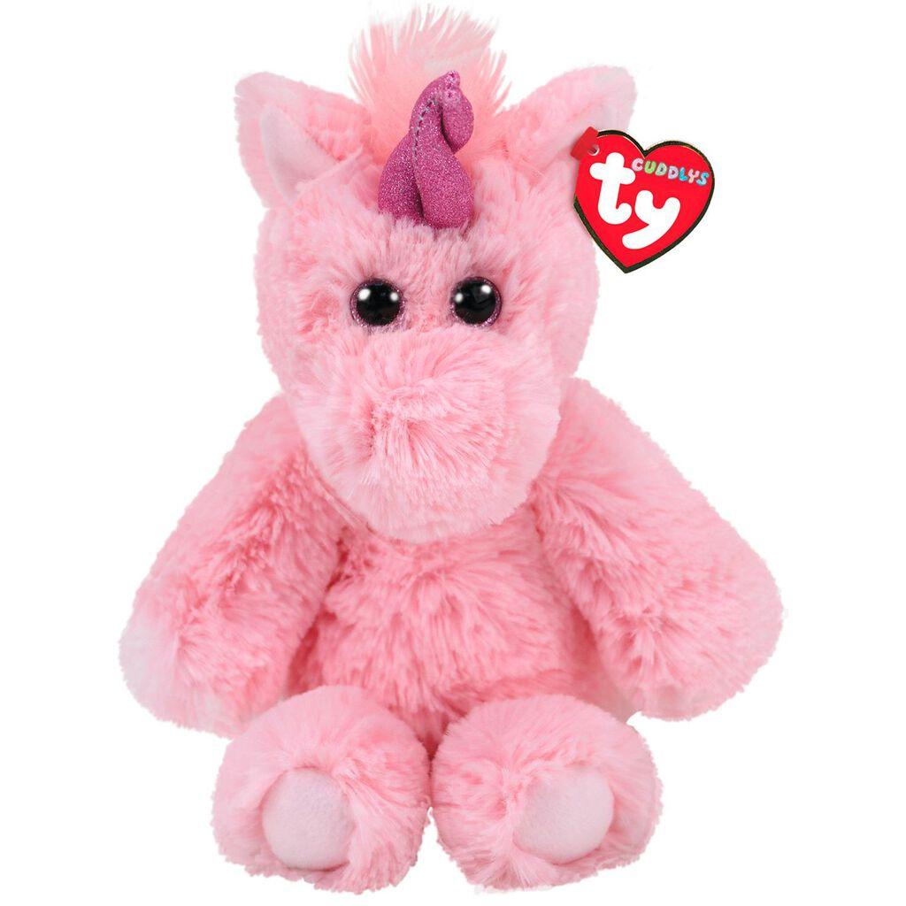 Ty Cuddlys Medium Estelle Unicorn Stuffed Animal 13 Classic