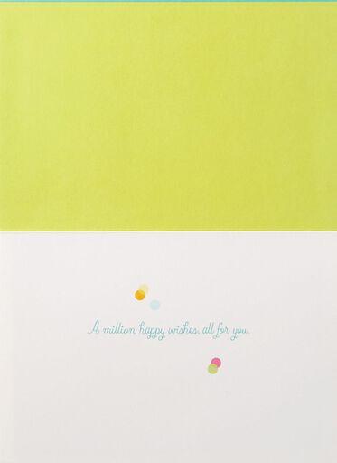 Birthday cards bday cards hallmark a million happy wishes confetti birthday card m4hsunfo