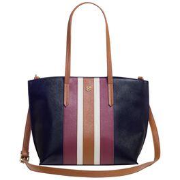 Mark & Hall Black Stripe Petite Tote Bag, , large