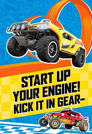 HOT WHEELS™ Start Your Engine Birthday Card