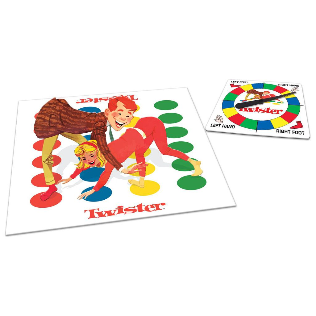 classic twister game puzzles games hallmark