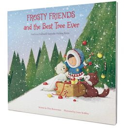 Frosty Friends and the Best Tree Ever: First in a Hallmark Keepsake Holiday Book Series, , large