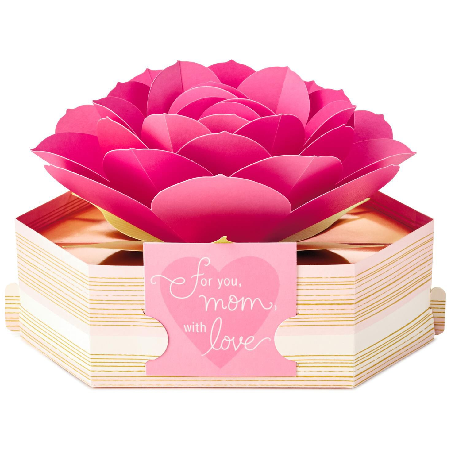 Pink Rose Pop-Up Mother\'s Day Card - Greeting Cards - Hallmark