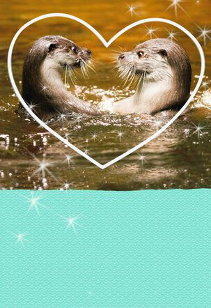 Meant for Each Otter Love Card