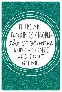 Cool Ones Friendship Card,