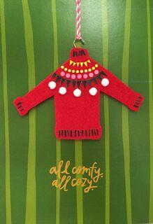 All Comfy All Cozy Christmas Card,