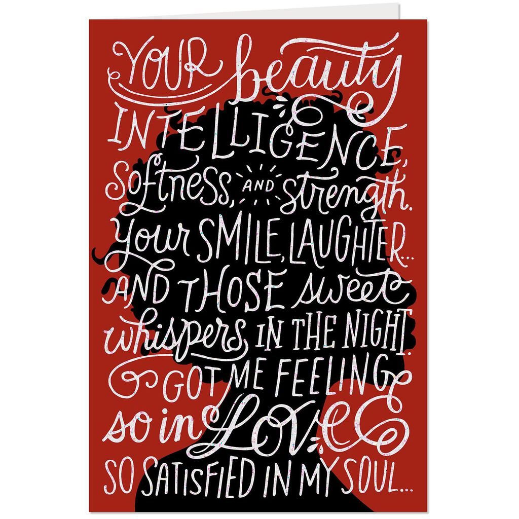 My Most Beautiful Gift Romantic Christmas Card - Greeting Cards ...