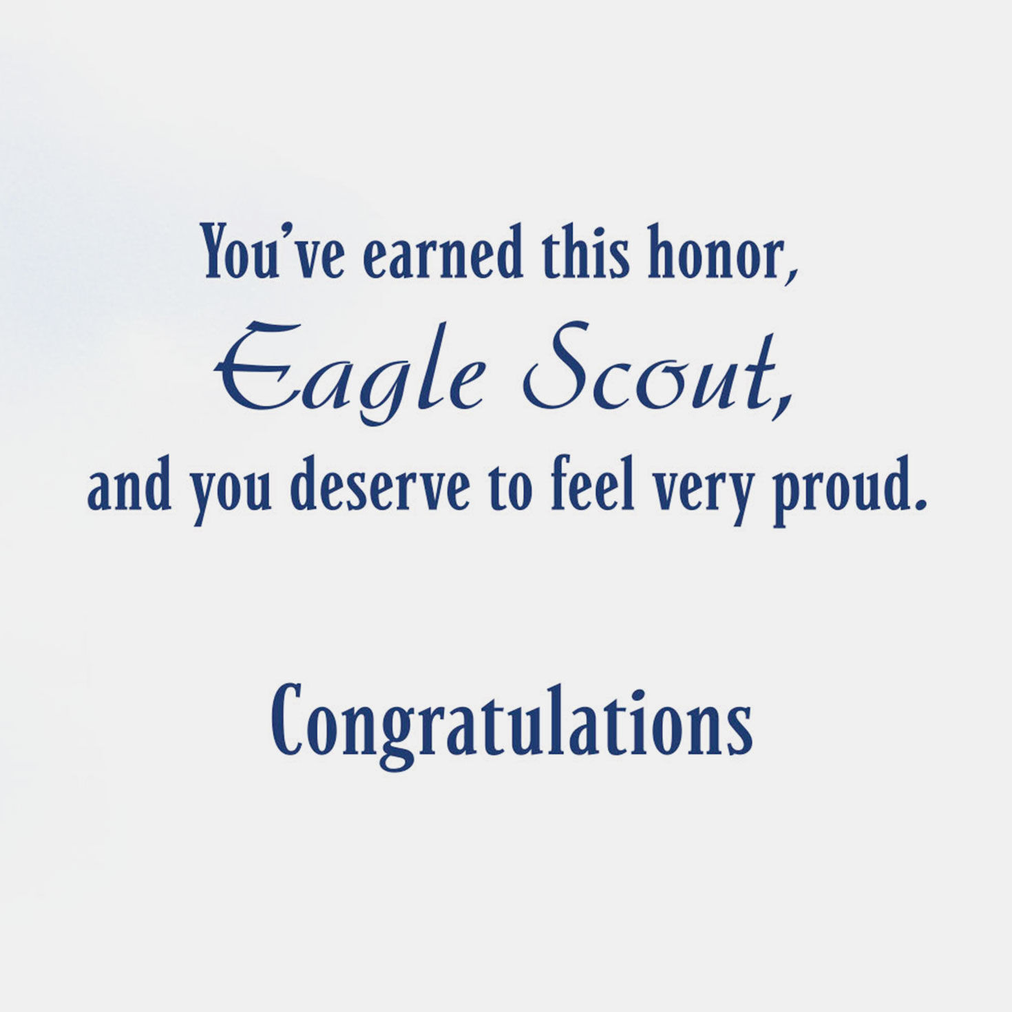 picture regarding Eagle Scout Congratulations Card Printable called A Design of Identity Eagle Scout Congratulations Card
