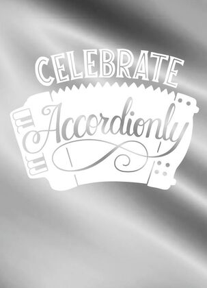 Celebrate Accordionly Blank Congratulations Card