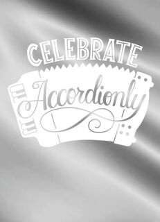 Celebrate Accordionly Blank Congratulations Card,
