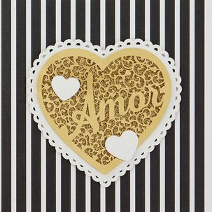 Amor Spanish Language Birthday Card