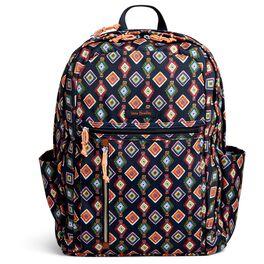 Vera Bradley Lighten Up Grand Backpack in Mini Medallions, , large