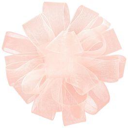 """Pink Sheer Ribbon Gift Bow, 4 5/8"""", , large"""