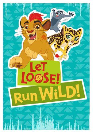 The Lion Guard Run Wild Birthday Card