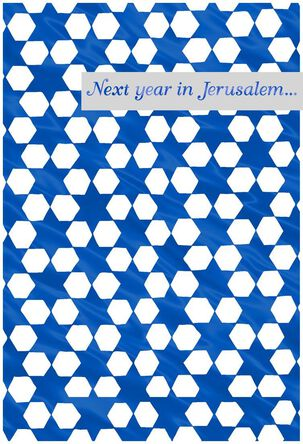 Past Present Future Passover Cards, Pack of 6