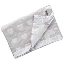 Gray Soft Muslin Jacquard Baby Blanket, , large