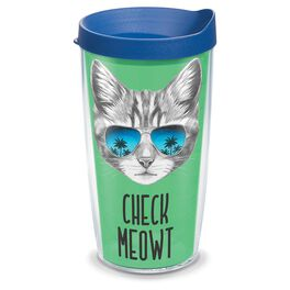 Tervis® Check Meowt Tumbler, 16 oz., , large