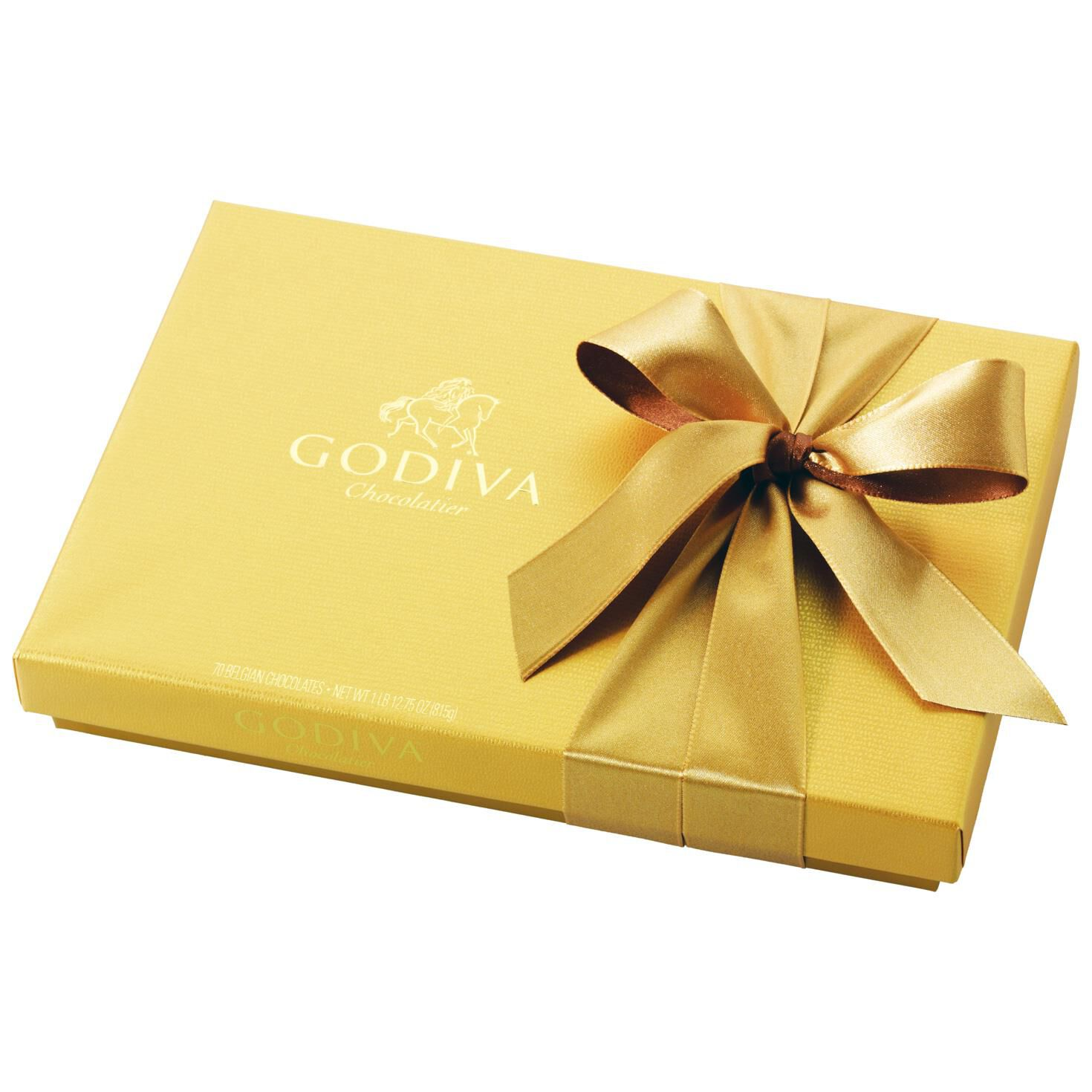 Godiva Chocolatier Assorted Chocolates in Gold Gift Box, 36 Pieces ...