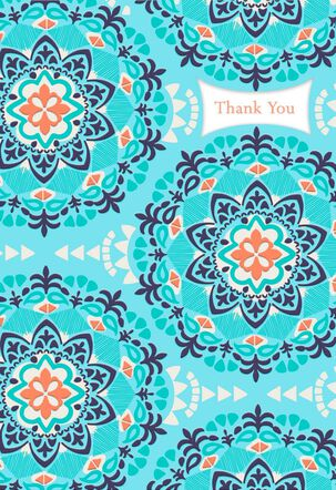 Different Languages Thank You Card