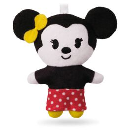 Keepsake Kids Minnie Mouse Plush Ornament, , large