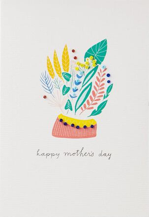 You Deserve a Beautiful Day Mother's Day Card for Anyone